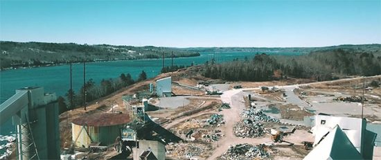 A former paper mill in Bucksport Whole Oceans expects to break ground this year