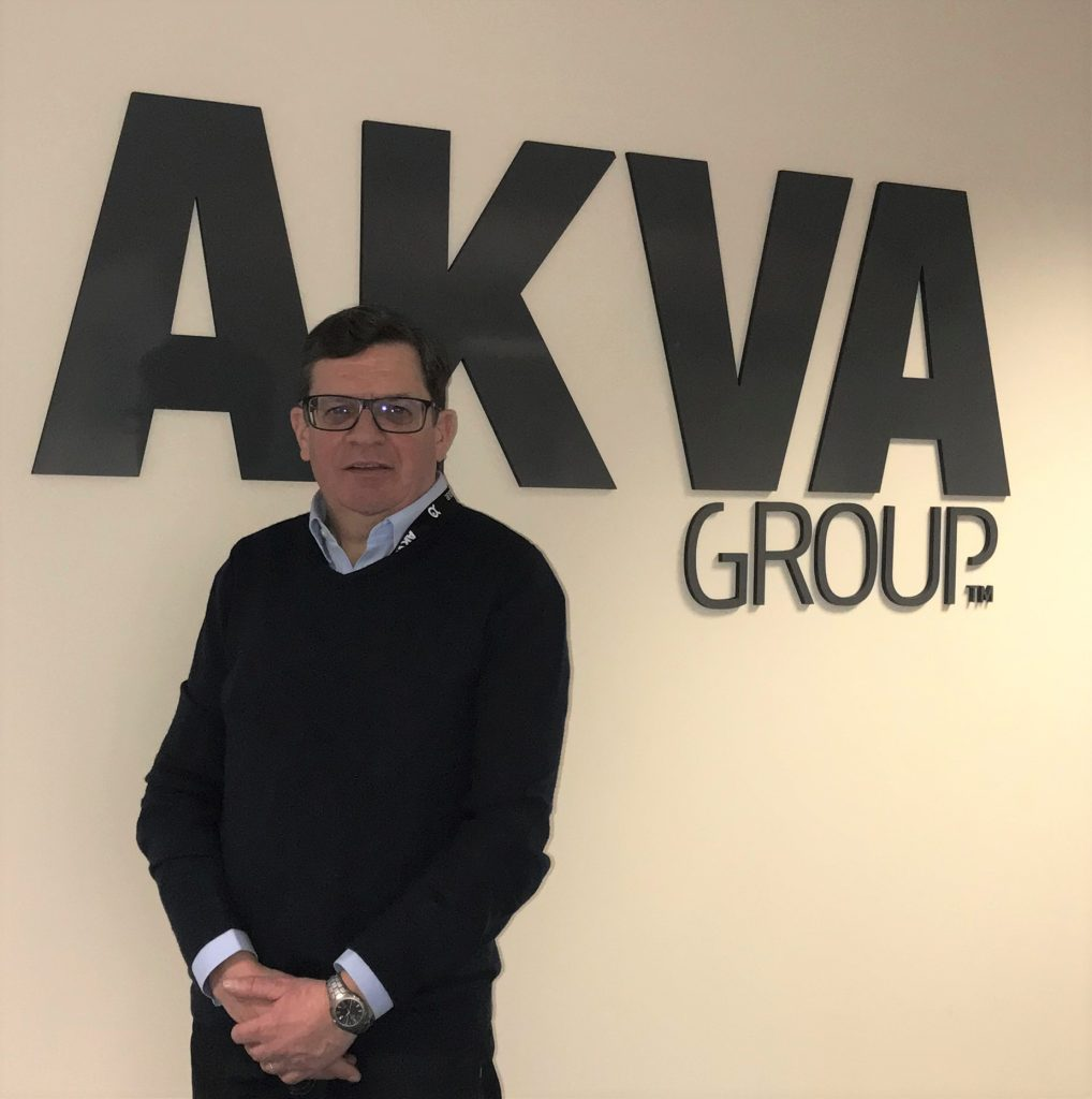 David Peach has been appointed commercial director of AKVA group Scotland. (Photo courtesy AKVA group Scotland)